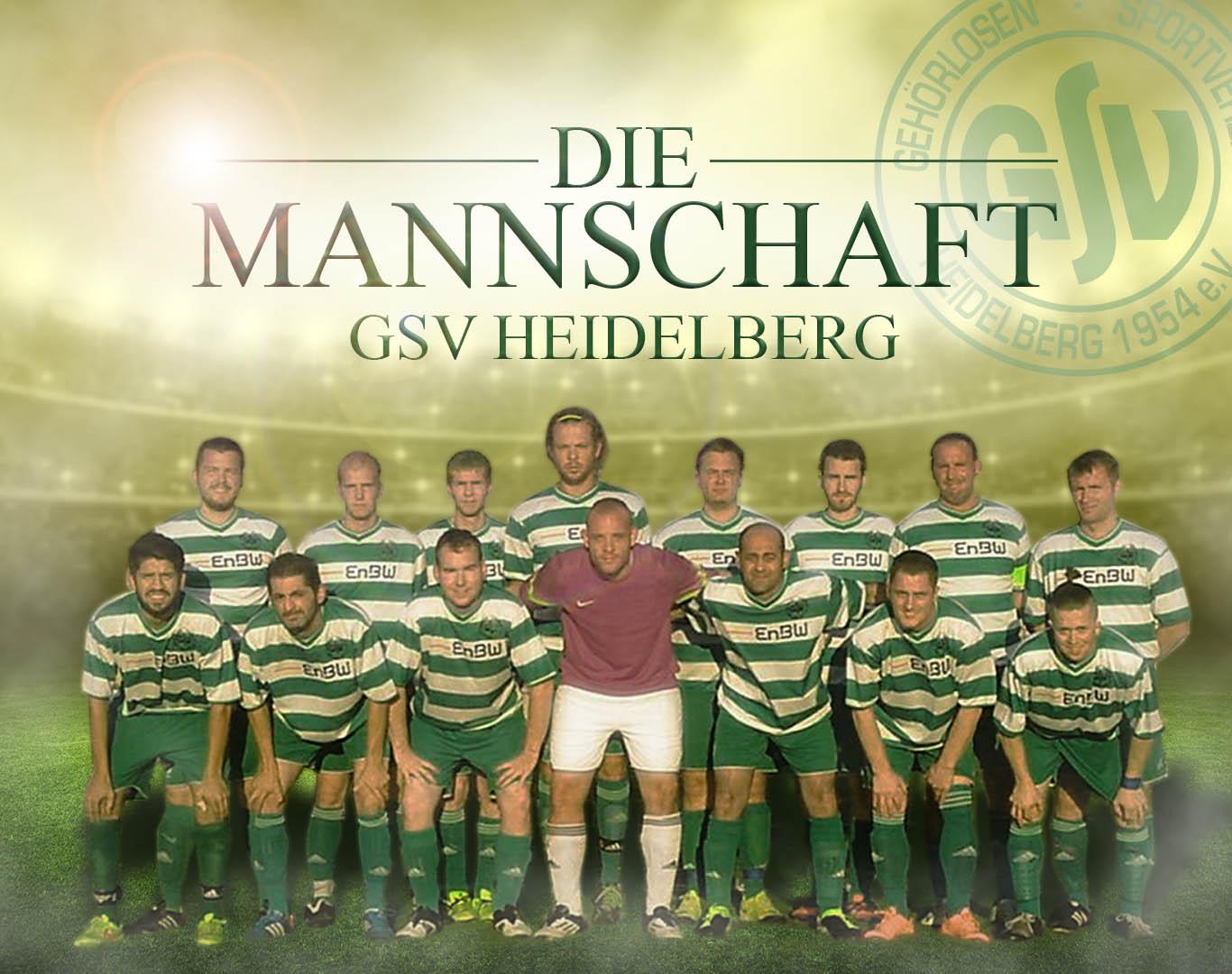 GSV Heidelberg_Mannschaft