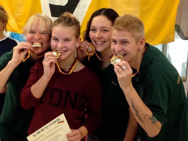 Deutscher Meister Damen Staffel Schwimmen