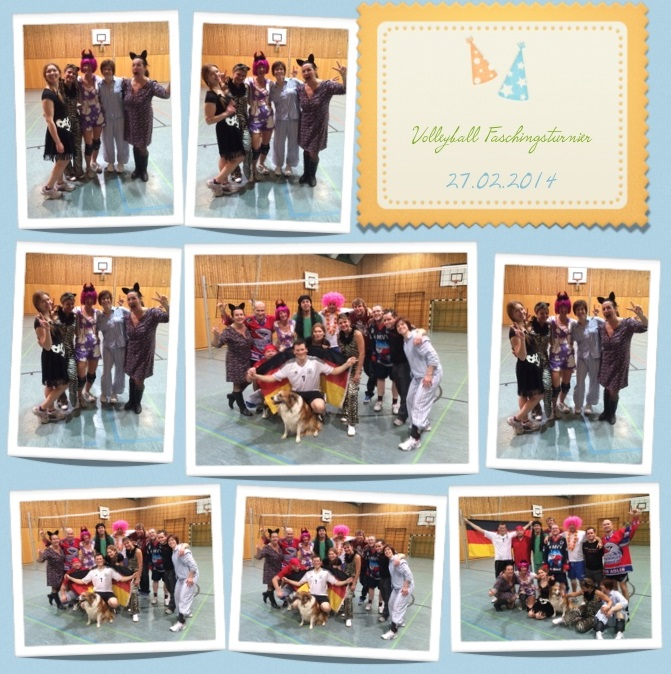 Fasching-Volleyballturnier 2014
