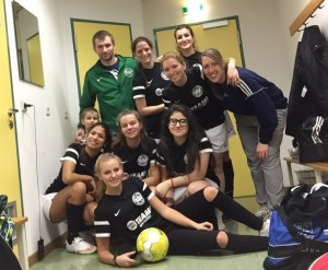 Frauenfussball 16.1.16 in Dresden