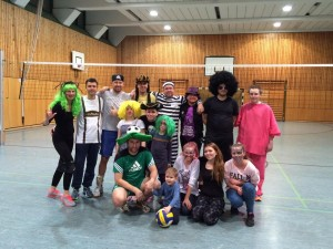 Fasching Volleyball